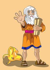 Moses and Precept stones