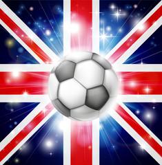 UK soccer flag