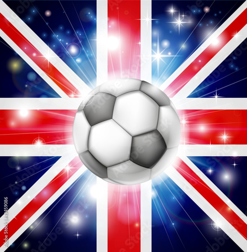 UK soccer flag