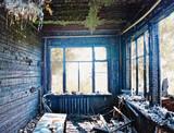 burned interior