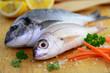 Fische, Gemüse