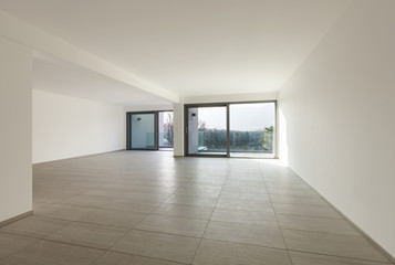 empty apartment, living room