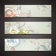 Vector Illustration of Decorative Banners