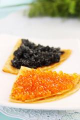 portion caviar