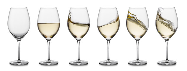 White wine splash collection