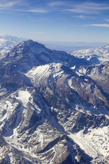 Mount Aconcagua in Argentina (highest pick in America continent)