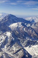 Mount Aconcagua in Argentina (highest pick in America continent)