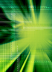 techno green backdrop