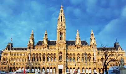 Vienna - City Hall - Town Hall, austria