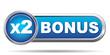 BONUS X2 ICON