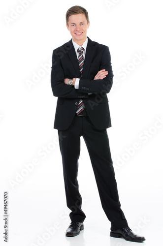 selbstbewusster businessman