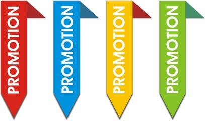 étiquettes bordure promotion