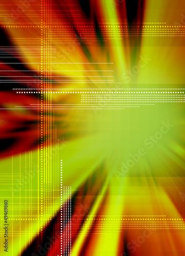 digital techno backdrop