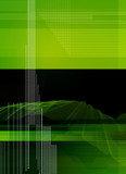 black green abstract