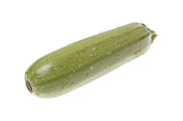 Zucchini isolated
