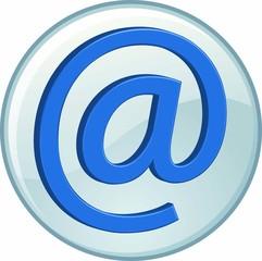 Bottone icona posta elettronica