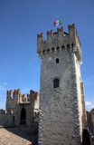 Sirmione - A tower of the castle