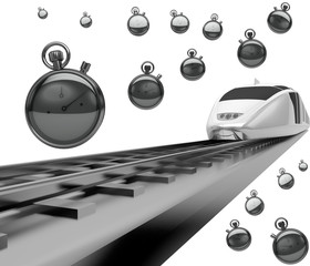 Treno ferrovie pendolari ritardo trasporti velocità