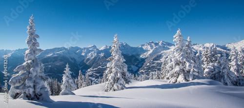Leinwandbilder,panorama,verschneit,winter,landschaft