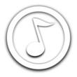 note de musique vignette blanche