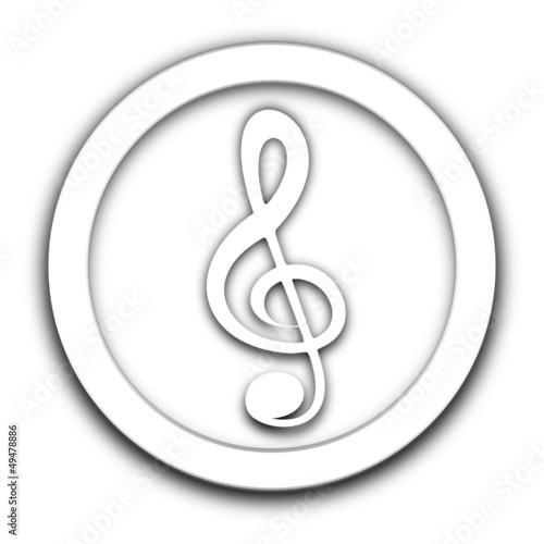 musique vignette blanche
