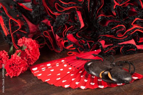 canvas print picture Flamenco