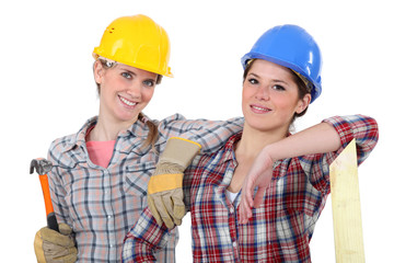Female carpenters