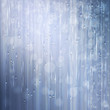 Silver shiny rain. Abstract water background design