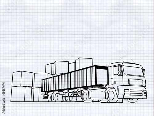 ..(FIGURE), transport services (truck and cartons)