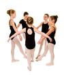 Pretty Young Ballerina Dancers
