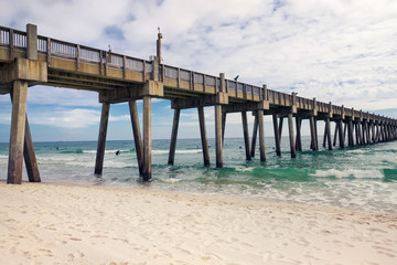 Pensacola Beach Fishing Pier, Florida