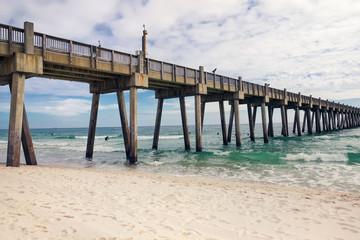 Pensacola Beach Fishing Pier, Florida