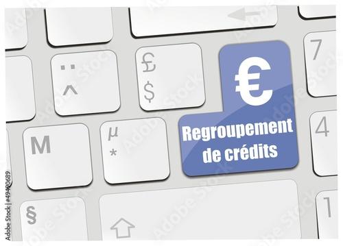 clavier regroupement de crédits