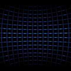 Vector background - blue neon net