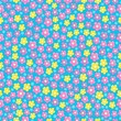 Seamless background flower topic 3