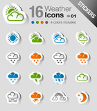 Stickers - Weather Web Icons