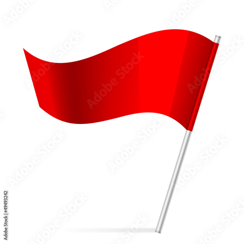 Vector illustration of flag