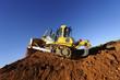 Excavator working