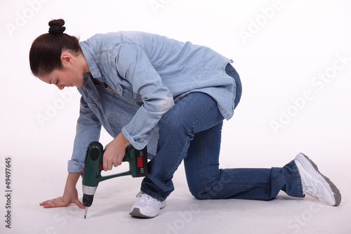 Female drilling floor
