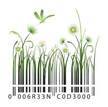 Kod kreskowy Flower