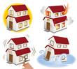 災害、被災する家
