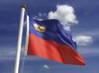 Liechtenstein Flag