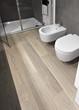 sanitari bianchi nel bagno moderno