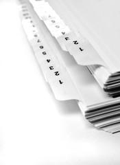 Numberd File Tabs