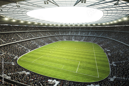 obraz PCV Stadion mit Blick von Oberer Tribüne