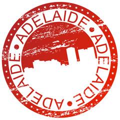 Stamp - Adelaide, Australia