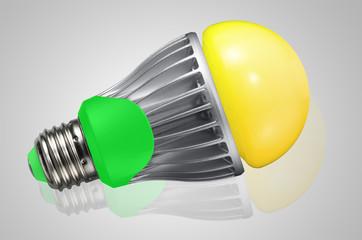LED Lampe gelb
