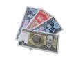 Кубинские деньги изолированные на белом фоне