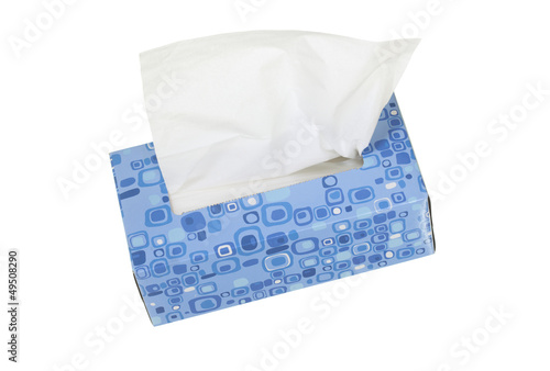 Box with Facial Tissues