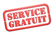 "Tampon ""Service Gratuit"""